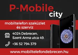 P-Mobile City Debrecen - Mobiltelefon szaküzlet és szervíz